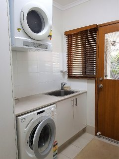 Modern laundry with excellent facilities.