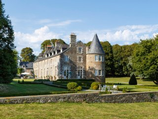 10 bedroom Chateau in Domjean, Normandy, France : ref 5364736