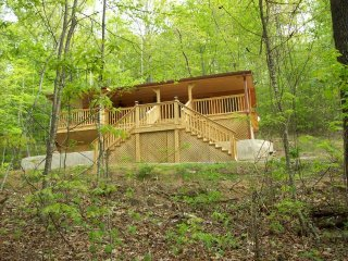 A Country Retreat at Clear Creek Cabins (Cabin in the Treetops)