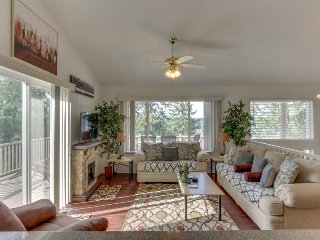 Spacious, dog-friendly home w/ lake & mtn views, located for year round fun!