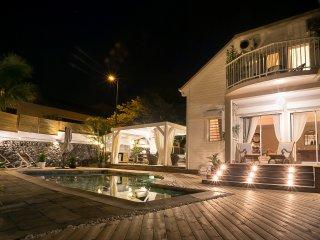 le Badamier blanc 2, meublé de tourisme classé 5 étoiles