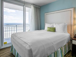 1BR OCEANFRONT Unit by Speedway LPGA Golf Airport w/ Fire Pit Pool Hot Tub Gym!!