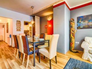 Oktogon apartment - 130m2 4br ap A/C wifi Terrace