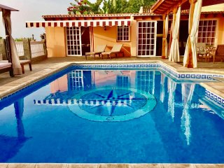 Large private pool-6 x 4 metres.