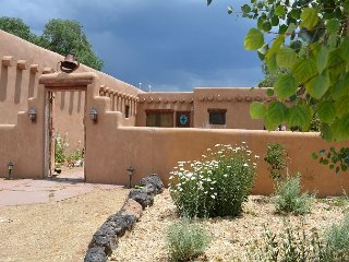 Artist's Adobe Authentic Adobe Home with sweeping mountain / pasture views