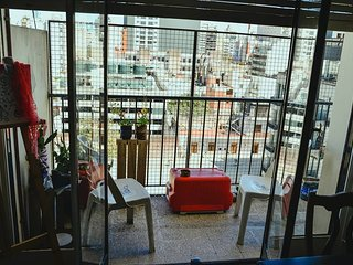 Habitacion simple en un departamento en el centro historico de Buenos Aires