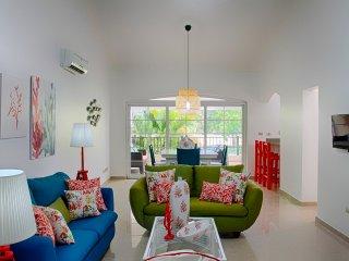 Apto. tropical de 2 habitaciones en Cocotal Golf
