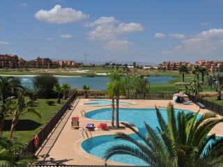 NEW. Mar Menor Golf Resort, Spacious 2 bed apt with stunning views.