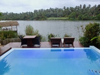Studio Villa by river with plunge pool (Elephant Villa)