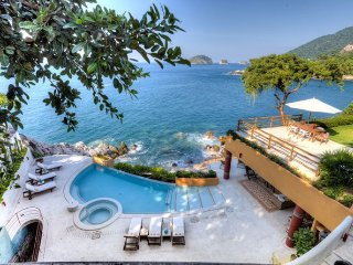 7 br stunng ocean front villa in Mismaloya locations, amazing view the ocean