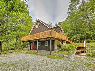 Quiet Au Sable Forks Home w/Great Deck & Fire Pit!