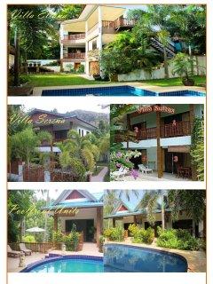 Villa Eliana, Villa Serena, Poolfront units