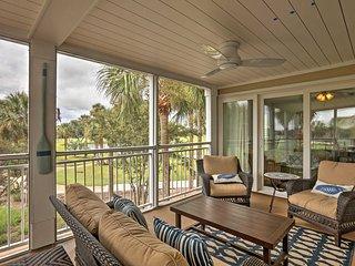 Seabrook Island Resort Condo w/ Golf Course View!
