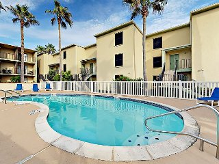 2BR w/ Pool & Balconies – Steps to Beach, Dining, & Nightlife