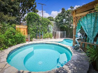 Historic 3BR Stone Cottage w/ Pool & Outdoor Living Areas
