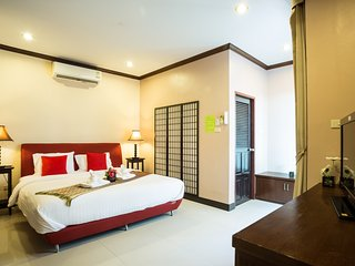 Kata Beachwalk Deluxe Double Room with small Balcony