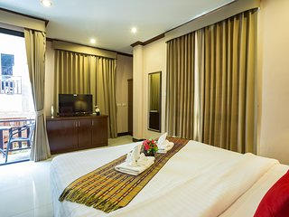 Kata Beachwalk Deluxe Double Room with small Balcony