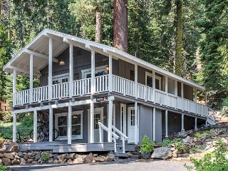 The Love Nest: Tahoe City Home in the Pines with Private Hot Tub