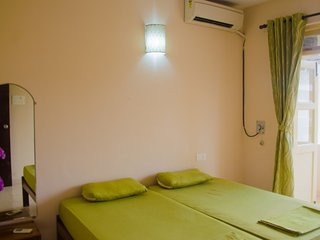 Well-furnished 2-bedroom apartment, close to Benaulim beach