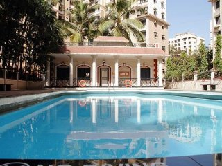 1-BHK apartment with a pool