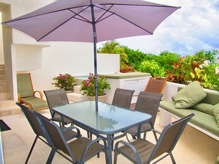 Bosque de los Aluxes Penthouse - Private Pool- Rooftop terrace with ocean view
