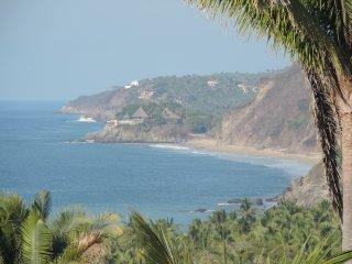 Beautiful ocean views, nestled in the tree tops