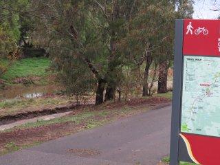 nearby walking trail