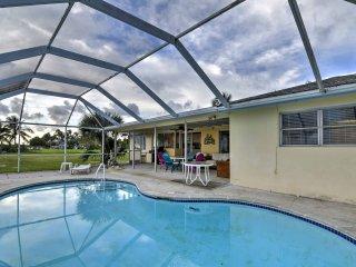 Secluded Bokeelia House w/ Pool & Ocean View!