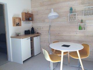 ARCACHON PARC MAURESQUE T2 atypique  NEUF de 25 m2 + mezzanine de couchage