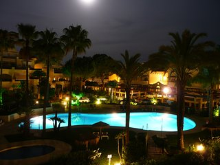 White Pearl Beach MARBELLA .. Beach Front-2 Bed 2 Bath 5 Persons-June Special**