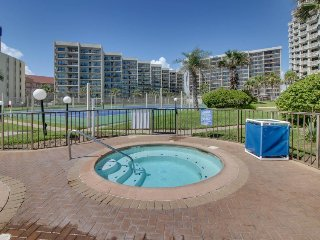 Dog-friendly oceanfront condo w/ shared pool, hot tub, & easy beach access!