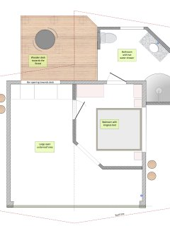 Casa Bejuco lay-out
