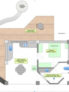 Casa Anak lay-out