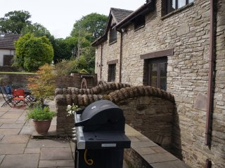 Trebarried Mill with 17th Century Mill Wheel and Run plus Fire Place