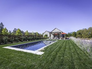 Stunning, quiet, contemporary, single-level, eco-friendly home on 2.5 acres