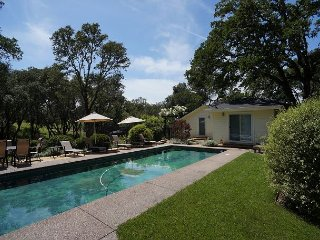 Wine Country Home on Chalk Hill - main house + pool house (up to 12 guests)
