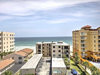 Daytona Beach Shores Condo w/Balcony & Ocean Views