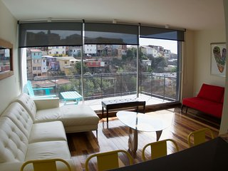 Luxury Duplex Apartment in Cerro Alegre Valparaiso