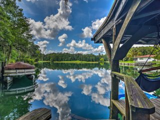 New! Riverside 3BR Dunnellon House w/Private Dock