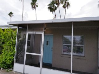 Beach house with yard and office!