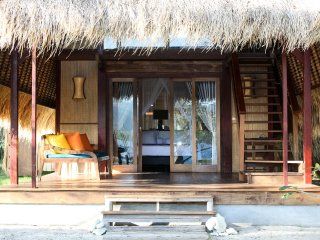Lumbung (3 person) - Gili Asahan Eco Lodge