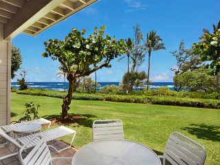 Sweet Ground Floor Suite w/WiFi, Lanai, Kitchen, Flat Screens, DVD–Kaha Lani 122