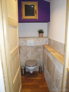 Gîte Le Vintage - Toilette séparé