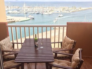 Penthouse with Private Roof Terrace, Stunning Marina, Med & Mar Menor Views