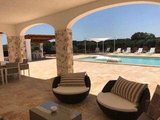 Villa con piscina privata e terrazza panoramica - Villa Falgheri
