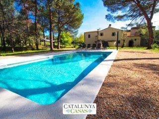 Catalunya Casas: Rustic 7-bedroom villa in Santa Cristina only 4km from the