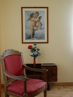 bedroom of blu apartment