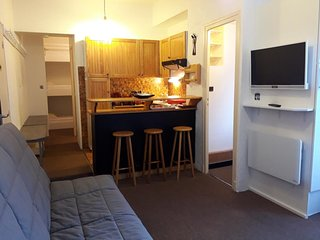 APPART 4/6 PERS, WIFI ,150 METRES DES TELECABINES