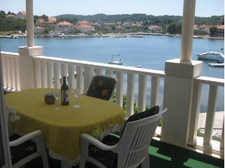 Apartments Ivona - Two Bedroom Apartment with Terrace and Sea View (Apt1)