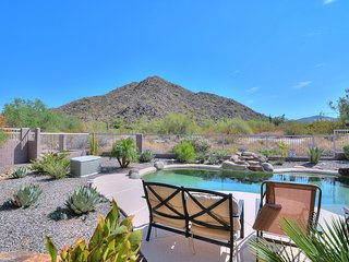 Quiet Gated community! Mountain views Heated Pool